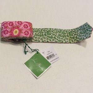 Vera Bradley Belt Petal Pink
